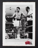 "Muhammad Ali ""Ali vs. Foreman"" Hand-Titled 11.75"" x 16"" MirrorPix Fine Art Giclee #4/275 (PA LOA)"