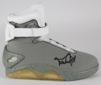 "Michael J. Fox Signed Self-Lacing Shoe ""Back to the Future II"" Movie Prop Replica (PSA COA)"