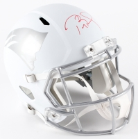 Tom Brady Signed Limited Edition Patriots Full-Size Custom Matte White ICE Speed Helmet #12/12 (Tristar Hologram & Steiner COA)
