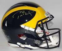 Tom Brady Signed Michigan Wolverines Full-Size Authentic Pro-Line Speed Helmet (TriStar)