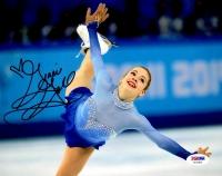 Gracie Gold Signed 8x10 Photo (PSA COA)
