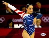Jordyn Wieber Signed Team USA 8x10 Photo (PSA COA)