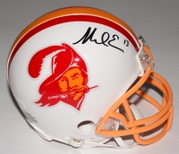 Mike Evans Signed Buccaneers Throwback Mini-Helmet (JSA COA & Denver Autographs COA)