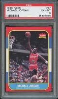 1986-87 Fleer #57 Michael Jordan RC (PSA 6)