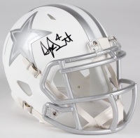 Dak Prescott Signed Cowboys Custom Matte White Speed Ice Mini-Helmet (JSA COA & Denver Autographs COA)