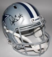 Dak Prescott Signed Cowboys Full-Size Speed Helmet (JSA COA)