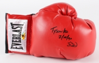 """Buster Douglas Signed Everlast Boxing Glove Inscribed """"Tyson KO 2-11-90"""" (MAB)"""