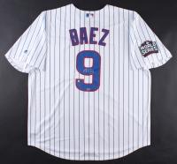 """Javier Baez Signed Cubs """"2016 World Series"""" Jersey (Fanatics Hologram & MLB Hologram)"""