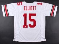 Ezekiel Elliott Signed Ohio State Buckeyes Jersey (JSA COA)