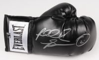 Riddick Bowe Signed Everlast Black Boxing Glove (Bowe Hologram)