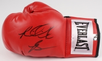 Riddick Bowe Signed Everlast Boxing Glove (Bowe Hologram)