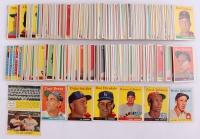 Near Set of (470/495) 1958 Topps Baseball Cards with #370 Yogi Berra,
