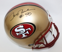 Jerry Rice Signed 49ers Full-Signed Helmet (PSA COA)