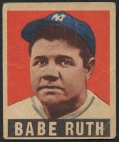1949 Leaf #3 Babe Ruth