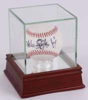 "Michael ""Jinx"" Spinks Signed OAL Baseball with High Quality Display Case (JSA COA)"