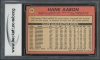 Hank Aaron 1969 Topps #100 (BCCG 7) at PristineAuction.com