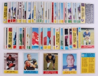 Complete set of (198) 1964 Philadelphia Football Cards with #30 Jim Brown, #79 Bart Starr, #198 Checklist 2, #91 Merlin Olsen RC, #12 Johnny Unitas