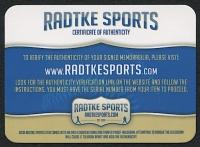 "Steve Largent Signed Seahawks Full-Size Helmet Inscribed ""HOF 95"" (Radtke COA) at PristineAuction.com"