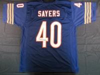 Gale Sayers Signed Bears Jersey (JSA Hologram)