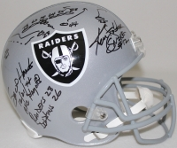 "Ken Stabler Signed LE Raiders Full-Size Helmet with Hand Drawn ""Sea of Hands"" AFC Playoffs Play & Multiple Inscriptions (Stabler Hologram & Radtke COA)"