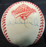 Derek Jeter Signed 1996 World Series Baseball (JSA Hologram)