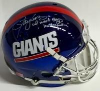"""Lawrence Taylor Signed Giants Blue Chrome Full-Size Helmet Inscribed """"I Was A Bad Motherf***er"""" (JSA COA)"""