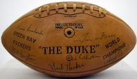 "1962 Green Bay Packers Team-Signed ""The Duke"" NFL Game Ball with (43) Signatures Including Vince Lombardi"