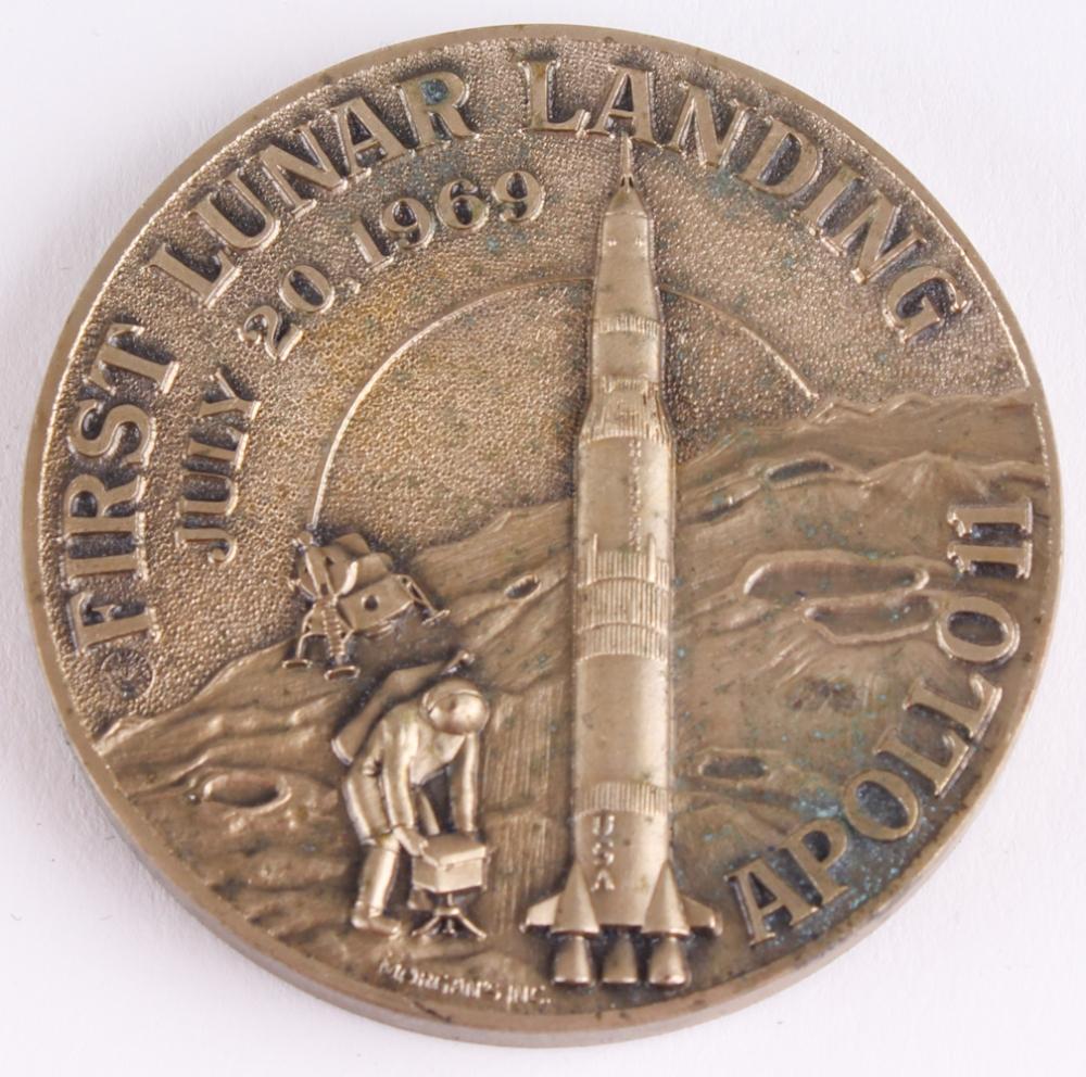 apollo xi commemorative coin