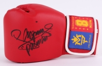 """Manny """"Pacman"""" Pacquiao Signed Boxing Glove (Beckett COA)"""