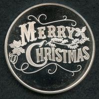 1 Troy oz. 2013 Silver Christmas Coin