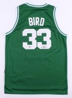 Larry Bird Signed Celtics Jersey (Bird Hologram & PSA COA)