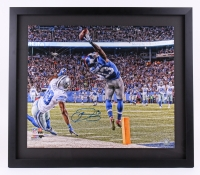 "Odell Beckham Jr. Signed LE Giants ""The Catch"" 26x30 Custom Framed Photo (Steiner COA)"