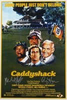 "Cindy Morgan & Michael O'Keefe Signed ""Caddyshack"" 12"" x 18"" Photo (MAB Hologram)"