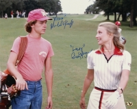 "Cindy Morgan & Michael O'Keefe Signed ""Caddyshack"" 16x20 Photo (MAB Hologram)"