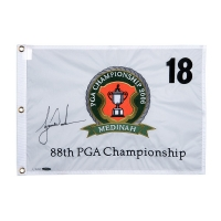 Tiger Woods Signed Limited Edition 2006 PGA Championship Pin Flag (UDA COA) at PristineAuction.com