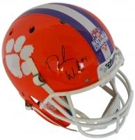 Deshaun Watson Signed Clemson Tigers 2016 National Champions Full Size Helmet (Beckett COA)
