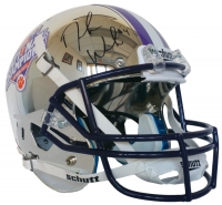 Deshaun Watson Signed Clemson Tigers 2016 National Champions Custom Chrome Full Size Helmet (Beckett COA)