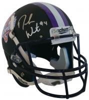 Deshaun Watson Signed Clemson Tigers 2016 National Champions Custom Matte Black Full Size Helmet (Beckett COA)