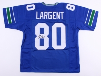 "Steve Largent Signed Seahawks Jersey Inscribed ""HOF '95"" (JSA COA) at PristineAuction.com"