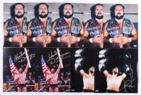 Lot of (11) Signed Wrestling 8x10 Photos with (4) X-Pac, (2) Hacksaw Jim Duggan & (5) Arn Anderson (Schwartz COA)
