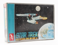 "1968 Vintage ""Star Trek"" ""U.S.S. Enterprise"" Space Ship Model Kit"