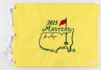 Gary Player Signed 2015 Masters Golf Pin Flag (JSA COA)