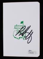 Bubba Watson Signed Masters Scorecard (JSA COA)