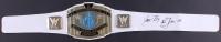 "Ric Flair Signed WWE Intercontinental Heavyweight Wrestling Championship Belt Inscribed ""Nature Boy"" & ""16x"" (JSA COA)"