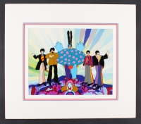 """The Beatles: Yellow Submarine 22"""" x 19.5"""" Custom Matted Hand-Painted Animation Cel """"Prototype"""" (1/1)"""