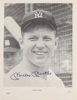 Mickey Mantle Signed Yankees 8x10 Photo  (JSA LOA)