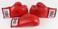 "Lot of (3) Signed Everlast Boxing Gloves with (1) Roy Jones Jr., (1) James ""Buster"" Douglas & (1) Larry Holmes (Schwartz COA)"