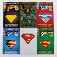Lot of (6) 1993 DC Superman Comic Books with Issues #22, #78, #82, #500, #501 & #687