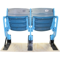 Authentic Pair of Seats From The Original Yankee Stadium (MLB & Steiner LOA)