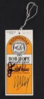 "Arnold Palmer, Joe Pesci, & Donald Trump Signed ""Bob Hope Classic"" Golf Ticket (JSA LOA)"